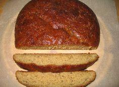 Pörden Keittiössä: Piimälimppu Meatloaf, Banana Bread, Gluten Free, Desserts, Recipes, Glutenfree, Deserts, Food Recipes, Rezepte