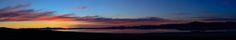 Black Rock Playa (NV), Sunrise, Peaks, Reflection, Panorama