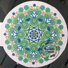 Uit 100 Creaties mandala | Gekleurd met Promarker 06-06-2016 | voor samen kleuren...