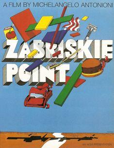 Zabriskie Point  (Poster Design by Milton Glaser)