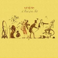 Album Cover Art: Genesis 'A Trick of the Tail' #art #music via http://www.progarchives.com/progressive_rock_discography_covers/1/cover_26172112008.JPG
