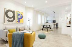 Luminoso apartamento en la calle Menorca Menorca, Nordic Style, Minimalist Home, Interior Inspiration, Ideas Para, Small Spaces, Kids Rugs, Interior Design, Home Decor
