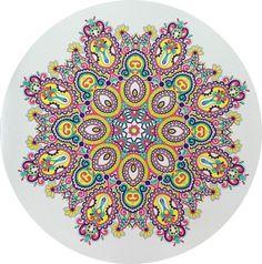 Creatie 2016-34, 19-12-2016 100 creaties mandala met Staedtler fineliners