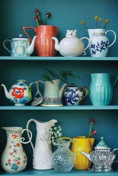 Selected teapots from our Spring House & Home collection.
