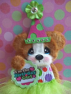Tutu Birthday Tear bear by inspired_by_you. Adorable!