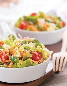 Salada com Linhaça e Quinua