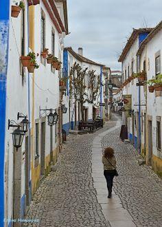 Portugal Obidos, rue Direirta