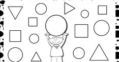 Shapes Worksheet Kindergarten, Shapes Worksheets, Math, Geometric Fashion, Different Shapes, Sheet Metal, Preschool, Notebooks, Learning