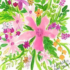 Lilly Pulitzer - Splash of Pink