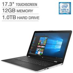 HP 17-bs153cl Touchscreen Laptop - Intel core i5 - 2GB AMD Graphics
