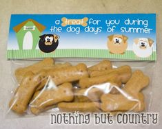 Scooby snacks (graham crackers) for the kids. Free Printable too! Cute!