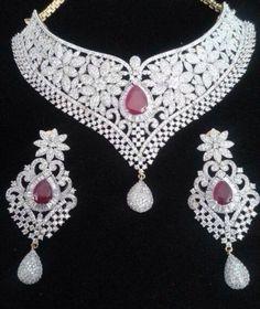 Awesome Diamond Jewelry Sets for Diamond Bracelets, Diamond Jewelry, Jewelry Bracelets, Jewellery, Girls Jewelry, Bridal Jewelry, Jewelry Sets, Diamond Mangalsutra, Schmuck Design