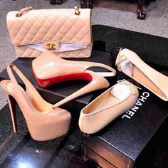 Chanel and CL Shoes