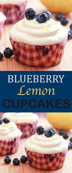 Blueberry Lemon Cupc