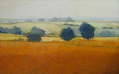 Earth Orange 40x60 Oil on Canvas 2002 Paul Balmer