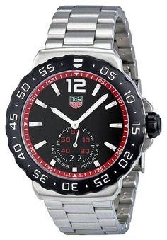 Tag Heuer Men's WAU1114.BA0858 Formula 1 Black Dial Dress Watch $1,027.66 (save $272.34)