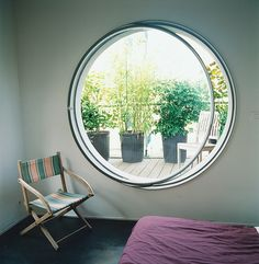 Articles about garden apartment. Dwell is a platform for anyone to write about design and architecture. Home Interior Design, Interior Architecture, Interior And Exterior, Exterior Design, House Deck, Modern Door, Prefab Homes, Window Design, Inspired Homes