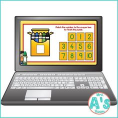 This fun digital busy box is perfect for online instruction or distance learning with your preschool, pre-k, or kindergarten kiddos! It works on multiple platforms and in the classroom for counting practice! #mrsasroom Preschool Math, Kindergarten Teachers, Preschool Ideas, Counting Puzzles, Powerpoint Format, Teaching Numbers, Busy Boxes, Number Activities, Group Work