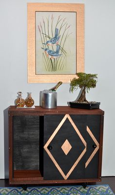 Working credenza by Etheria Dolls, via Flickr 1:6th Scale