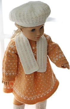 Doll clothes knitting patterns