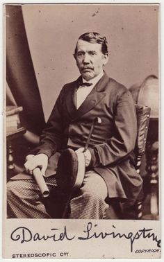 Dr. David Livingstone (1813 - 1873) - Medical missionary and explorer of Africa.