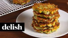 Zucchini Corn Cakes | Delish + McCormick - YouTube