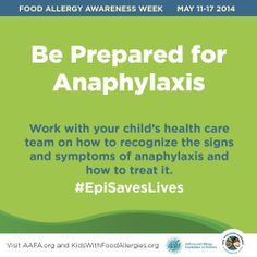 """#FAAW The only """"treatment"""" for anaphylaxis is injectable epinephrine."""