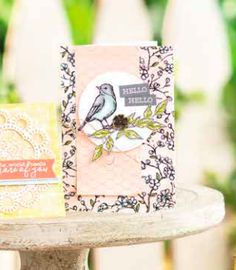 This card is CASEd from the Stampin' Up! Annual Catalog using Bird Ballad DSP and Free As A Bird stamp set to show how you can ethically copy from another. Alcohol Markers, Bird Cards, Basic Grey, The Perfect Touch, Ink Pads, Twine, I Card, Card Stock, Stampin Up