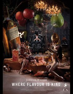Where Flavour is King - Johnnie Walker