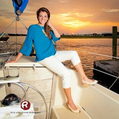 Ask and you shall receive! Thanks Bob, owner of The Kelly Allen, for letting us use your sailboat in this gorgeous senior portrait over the Southport, NC boat docks. Ryan David Jackson Photography located in Fayetteville, NC. www.seniorportraits.ryandavidjackson.com  #outdoorportraits #ncportraits #northcarolina #photography #photographer #ncseniorportraits #bestphotographer #fayettevillephotography #affordablephotography