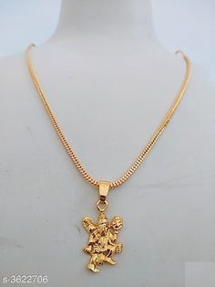 Pendants & Lockets Trendy One Gram Gold Women's Pendant With Chain Material: Gold Plated Size: Free Size  Description: It Has 1 Piece Of Women's Pendant With Chain  Work: Embillished Country of Origin: India Sizes Available: Free Size *Proof of Safe Delivery! Click to know on Safety Standards of Delivery Partners- https://ltl.sh/y_nZrAV3  Catalog Rating: ★4 (1097)  Catalog Name: 閴傘倧绗峊rendy Attractive Women's Pendant With Chains Vol 1 CatalogID_505394 C77-SC1095 Code: 481-3622706-