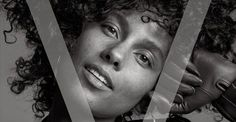 Alicia Keys Continues Her No Makeup Movement on the Cover of V Magazine  Daily Front Row