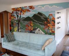 Love the wall mural idea ;)   scottafter2