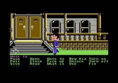 Maniac Mansion i was way too young to even get past the front yard!
