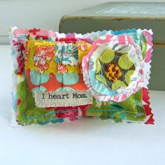 Mom Lavender Sachet Mother's Day pillow sachet. by tracyBdesigns