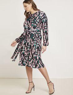 386d1d3d1ed2 Tie Front Easy Dress   Women's Plus Size Dresses   ELOQUII Plus Size Summer  Outfit,
