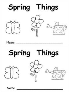 This emergent reader little book will help young students practice early reading skills, while reading about a fun subject: spring things!! The text throughout the book follows this pattern: We can see the ______ in spring. It is/ They are (color word) . The following spring vocabulary words are included: sun, gloves, watering can, butterfly, flower, bird, cloud, branch, grass, and seeds.