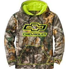 We know there is no debate in your mind!  Let everyone know which truck your heart is with while sporting this Realtree® Xtra Camo performance hoodie.  Features smooth finish performance poly, high contrast stitching and hood lining, and high definition screen print.