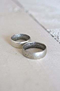 World War 1 Trench Art Rings - FORESTBOUND