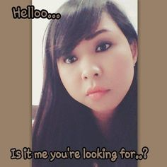 helloo... is it me  you're looking for??