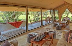 Asilia Africa took over the ten-tent Encounter Mara camp in Kenya's private Mara Naboisho Conservanc. - Photo: Courtesy of Encounter Mara Best Tents For Camping, Luxury Camping, Camping World, Tent Camping, Glamping Tents, Camping Packing, Camping Ideas, Architectural Digest, Tent Platform