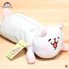 P助與兔兔 Kanahei - 公仔造型筆袋 (白色小動物款)