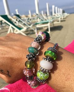 Charm Bracelet - the Fashion Artist love by VIDA VIDA xVLc49L49m