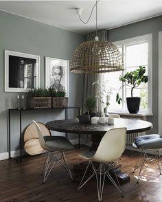 Snygg väggfärg, oklart vilket rum