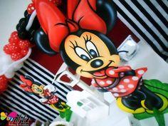 Mesa com painel da Minnie! #PanetableWith #MesacomPainel #Minnie