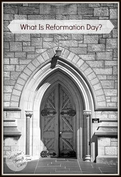 The Mailbag: What is Reformation Day?