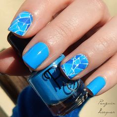 P.S. Nail Polish with Born Pretty Store Water Decals