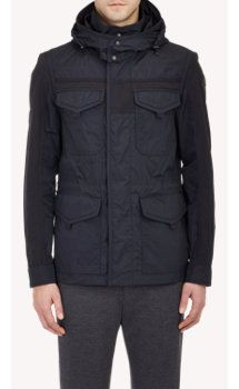 Moncler Hooded Field Jacket