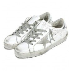 ccfb6be79 2016 Golden Goose Super Star Low Sneaker GGDB Donna Bianca Argento is a  premium product from