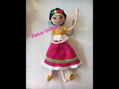 Como tejer muñeca Frida amigurumi By Petus Ochoa SEXTA PARTE - YouTube